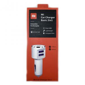 شارژر فندکی Mi Car Charger 2in1